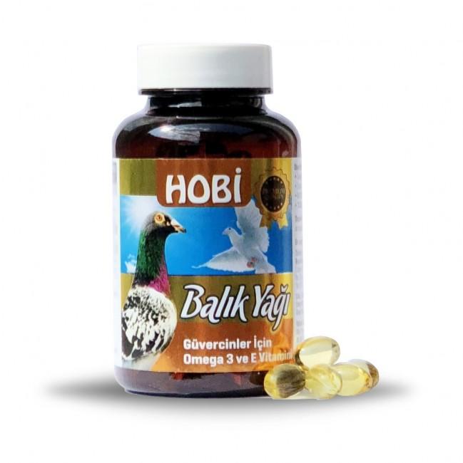 Hobi - Hobi Balık Yağı 500mg 100lü
