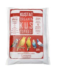 Kuştat - Kuştat Organik Kuş Toprağı 3 Litre