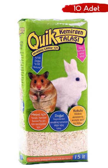Quik - Quik Kemirgen Talaşı 15 Lt 10 Adet