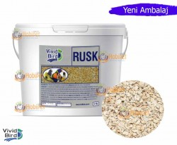 Vivid - Vivid Rusk Kuş Maması Nemlendiricisi 5kg
