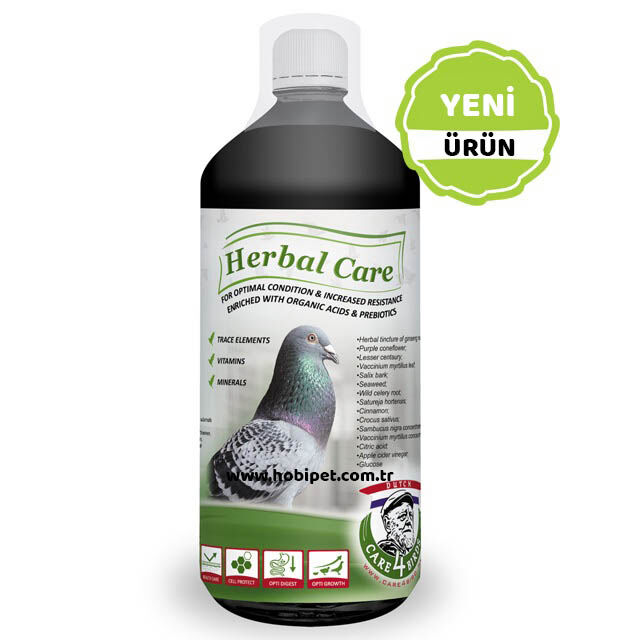 Care 4 Birds Herbal Care Bitki Suyu 1 Litre