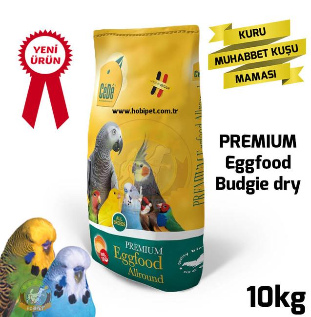 Cede - Cede Eggfood Budgie Kuru Muhabbet Kuşu Maması 10kg