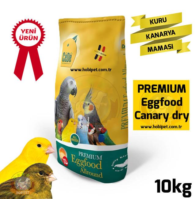 Cede - Cede Eggfood Canary Kuru Kanarya Maması 10kg
