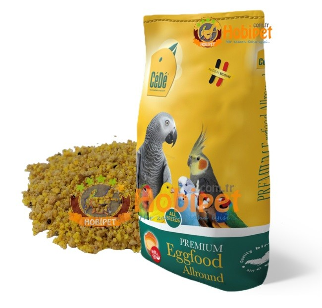 Cede - Cede Allround Tüm Kuşlar İçin Hazır Nemli Yumurtalı Kuş Maması 10kg (1)