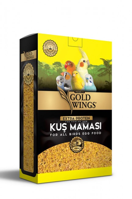 Gold Wings Premium - Gold Wings Premium Tahıllı Kuş Maması 1 Kg