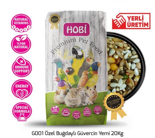 Hobi - Hobi G001 Özel Buğdaylı Güvercin Yemi 20Kg