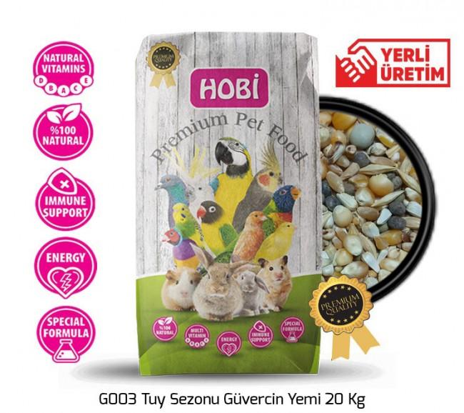 Hobi - Hobi G003 Tuy Sezonu Güvercin Yemi 20 Kg