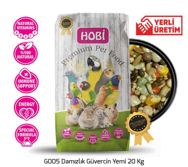 Hobi - Hobi G005 Damızlık Güvercin Yemi 20 Kg