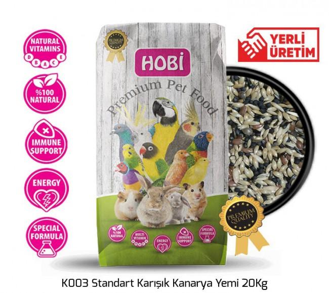 Hobi - Hobi K003 Standart Karışık Kanarya Yemi 20Kg