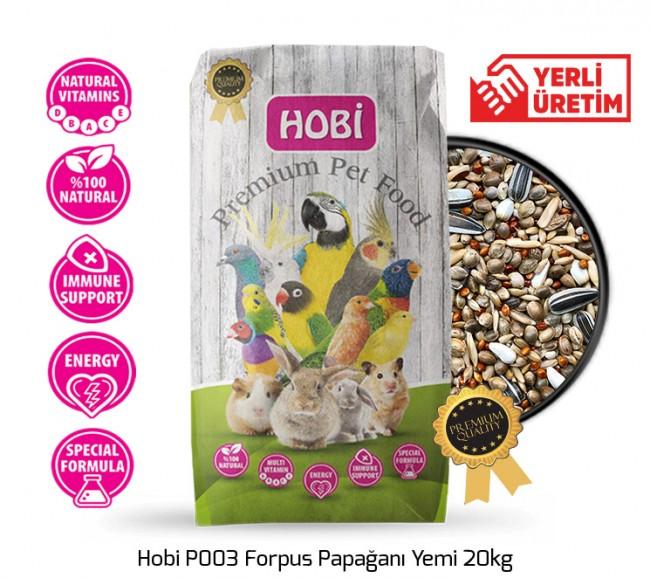 Hobi - Hobi P003 Forpus Papağanı Yemi 20kg