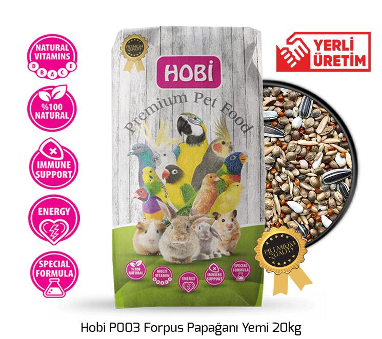 Hobi P003 Forpus Papağanı Yemi 20kg