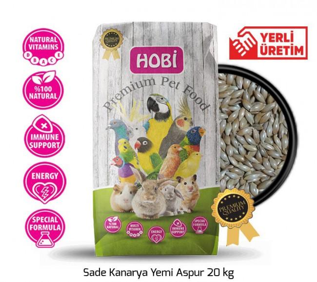 Hobi - Hobi Sade Kanarya Yemi Aspur 20 kg