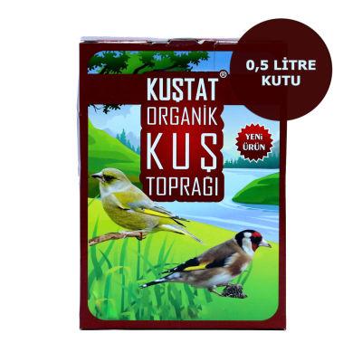Kuştat Organik Kuş Toprağı 0.5 Litre
