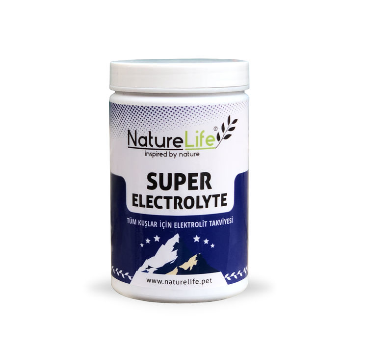 Naturelife Super Electrolyte Tüm Kuşlar İçin Elektrolit Takviyesi 200gr