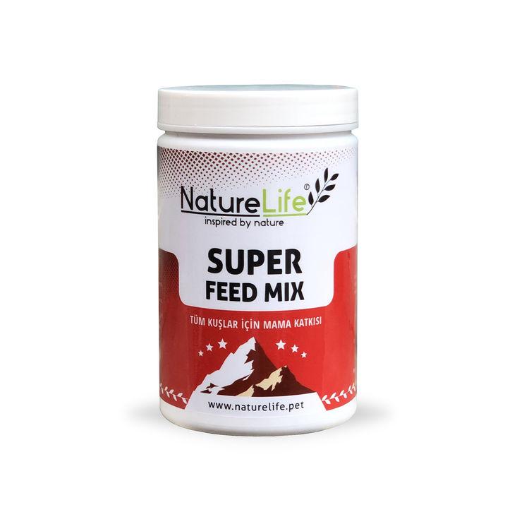 Naturelife Super Feed Mix Tüm Kuşlar İçin Bitkisel Mama Katkısı 200gr