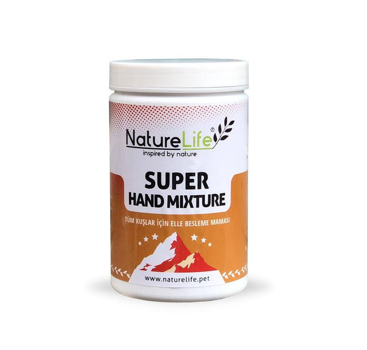Naturelife Super Hand Mixture Tüm Kuşlar İçin Elle Besleme Maması 200gr