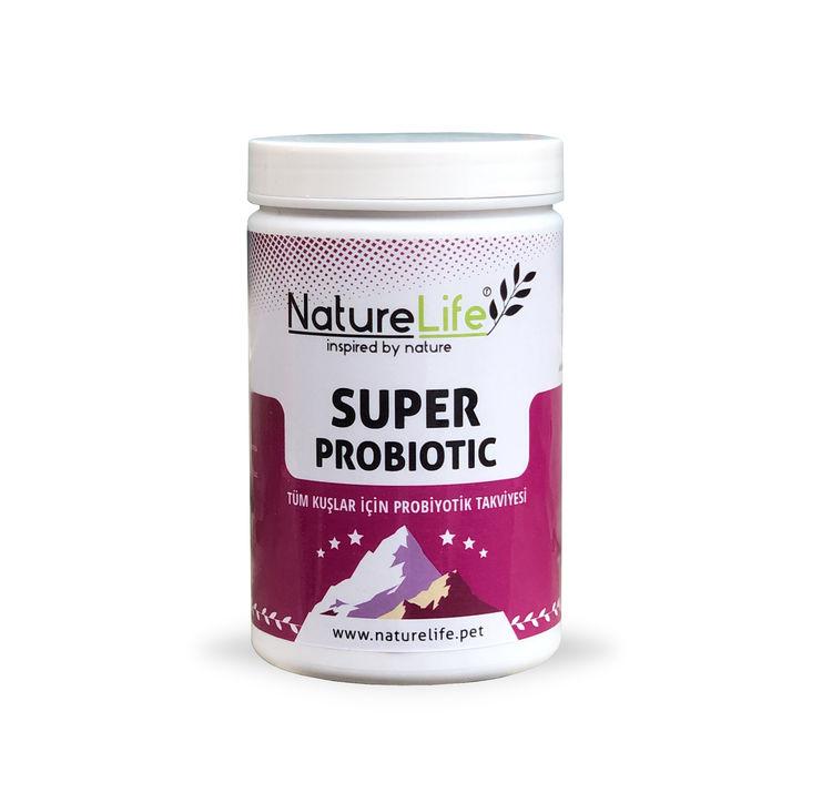Naturelife Super Probiotic Tüm Kuşlar İçin Probiyotik Takviyesi 200gr