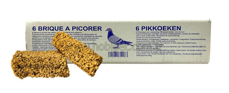 Paloma Pikkoeken Güvercin Mineral Pastası 6'lı Kutu