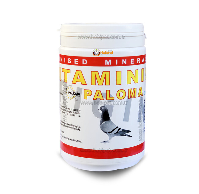 Paloma - Paloma Vitaminsed Vitamin Mineral Karışımı Pembe Toz 1kg