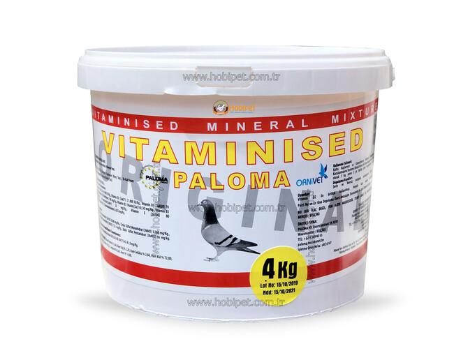 Paloma - Paloma Vitaminsed Vitamin Mineral Karışımı Pembe Toz 4kg