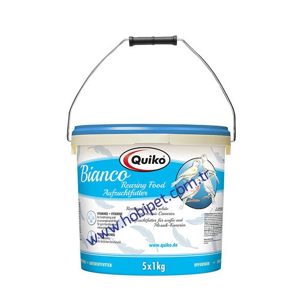 Quiko - Quiko Bianco (Beyaz) Kanarya Maması 5kg