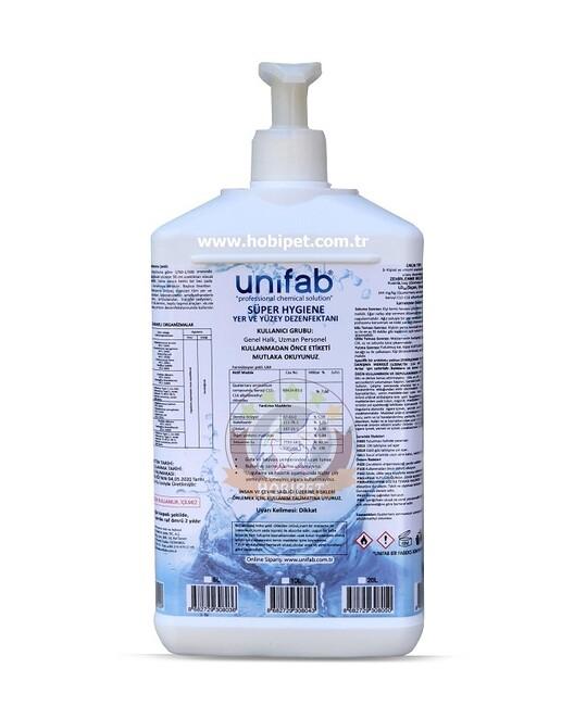 Unifab - Unifab Süper Hijyen El Yer ve Yüzey Dezenfektanı 1 Litre