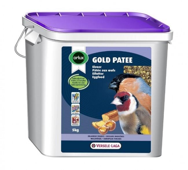 Versele-Laga - Versele Laga Orlux Gold Patee Nemli Ballı Böcekli Kurtlu Kuru Karidesli Mama 5kg