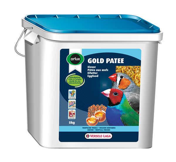 Versele-Laga - Versele Laga Orlux Gold Patee Nemli Kurtlu Kuru Karidesli Ballı Yumurtalı Kuş Maması 5kg