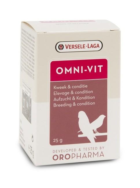 Versele-Laga - Versele Laga Oropharma Omni-Vit Üreme Kondisyon Vitamini 25 gr